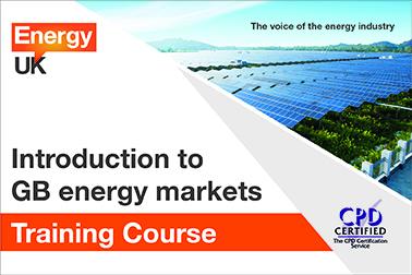 Energy UK Training Course